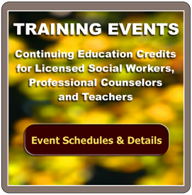 John Micsak Training Events for Social Workers, Counselors and Teachers